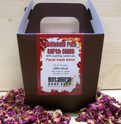 Wickedly Rich Earth Clays with soothing botanicals - Facial Mask Blend